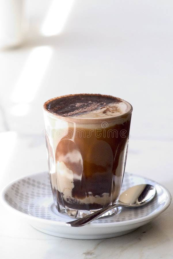 Koffie Mocha royalty-vrije stock afbeelding