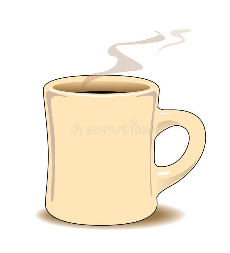 Koffie mug.jpg stock illustratie