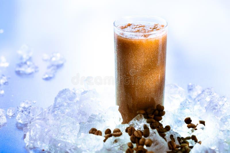 Koffie smoothie royalty-vrije stock foto