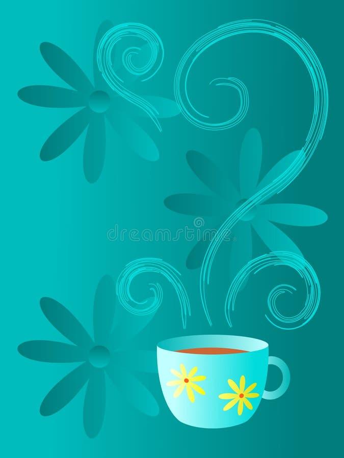 Koffie of Thee? royalty-vrije illustratie