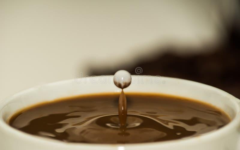 Koffie tussen sterren royalty-vrije stock foto
