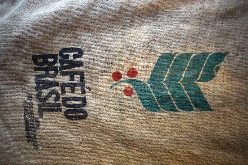 Koffie van Brazilië royalty-vrije stock foto