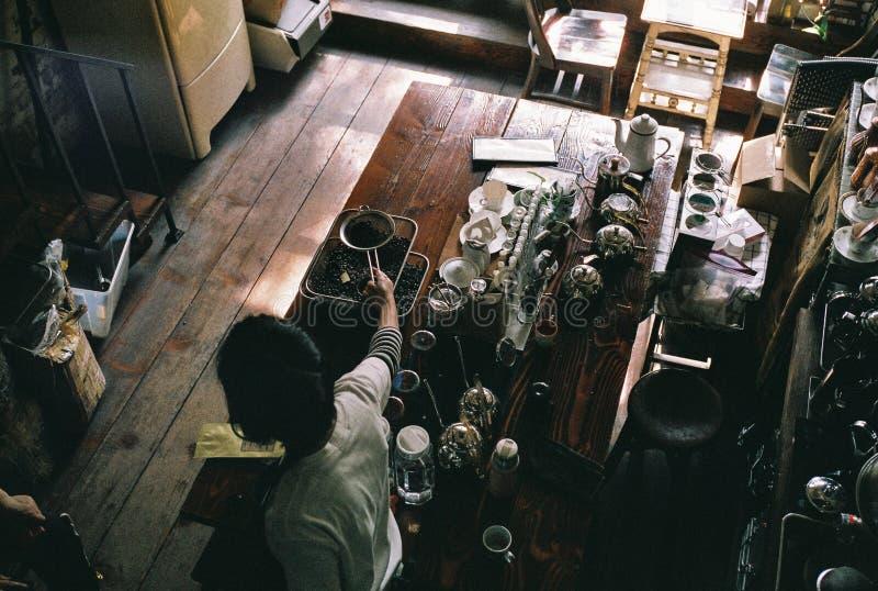 Koffie Vibes stock fotografie