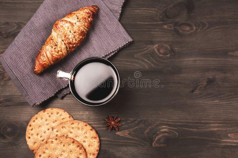 Koffie voor ontbijt stock fotografie