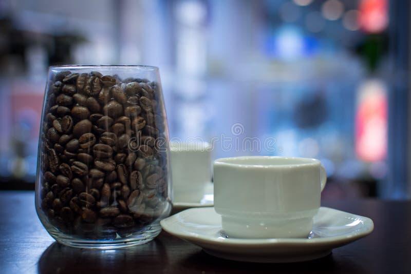 Koffie voor u royalty-vrije stock foto