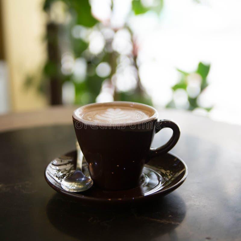 Koffieachtergrond stock foto