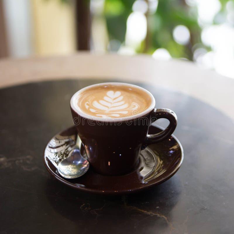 Koffieachtergrond royalty-vrije stock afbeeldingen