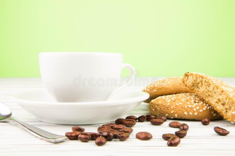 Koffieachtergrond stock afbeelding