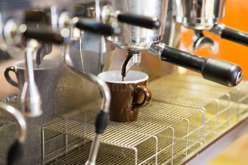 Koffieachtergrond stock foto's