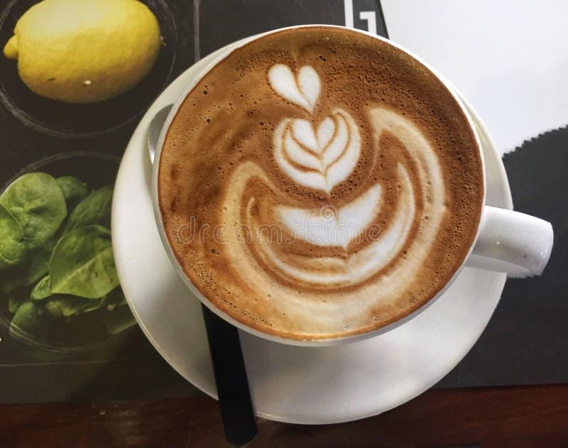 Koffieart. stock fotografie