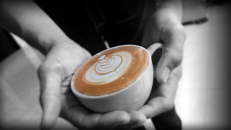 Koffieart. stock foto