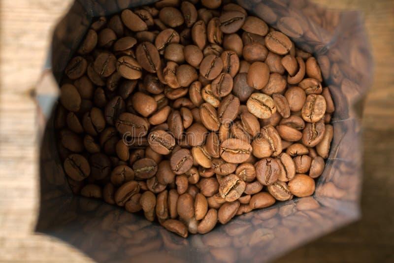Koffiebonen stock foto's