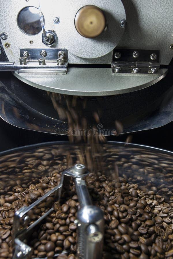 Koffieboon het roosteren stock foto