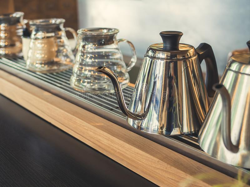 Koffieketel royalty-vrije stock foto