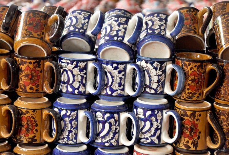 Koffiekoppen stock afbeelding