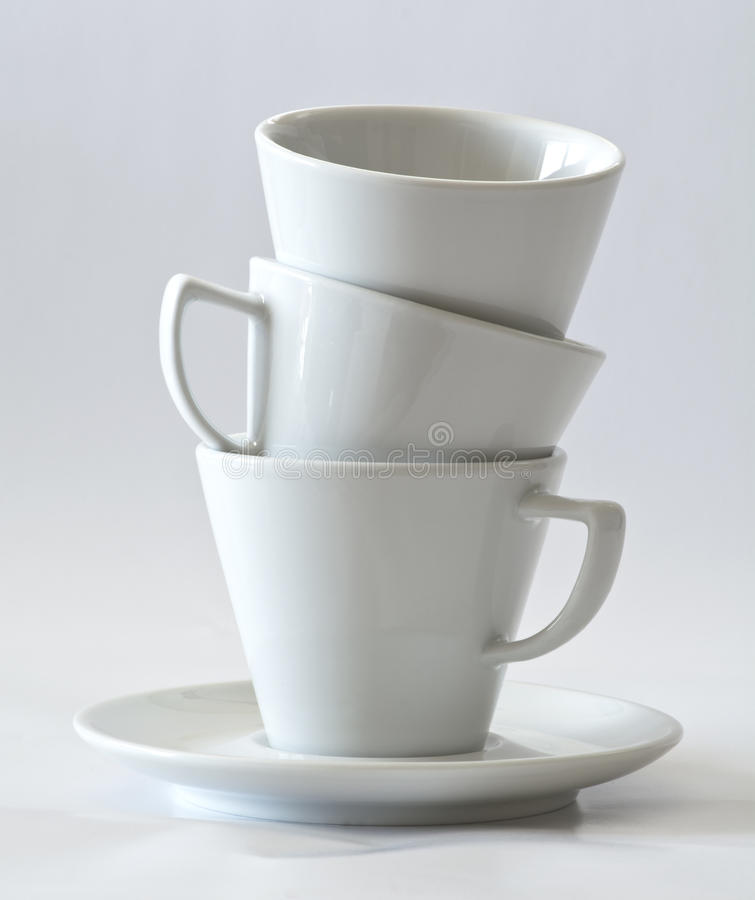 Koffiekoppen royalty-vrije stock foto's
