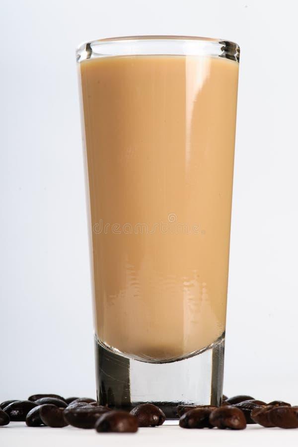 Koffielikeur royalty-vrije stock foto