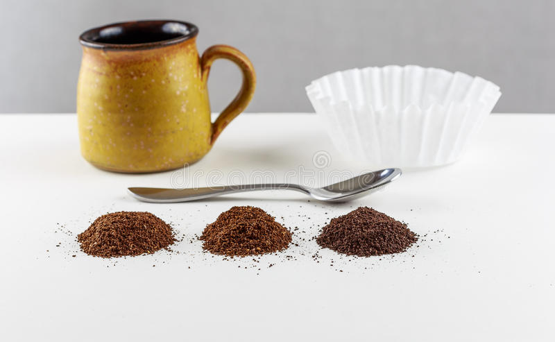 Koffiemengsels royalty-vrije stock afbeelding