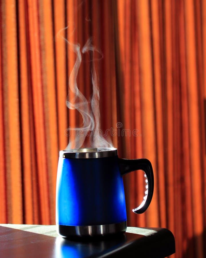 Koffiemok stock foto