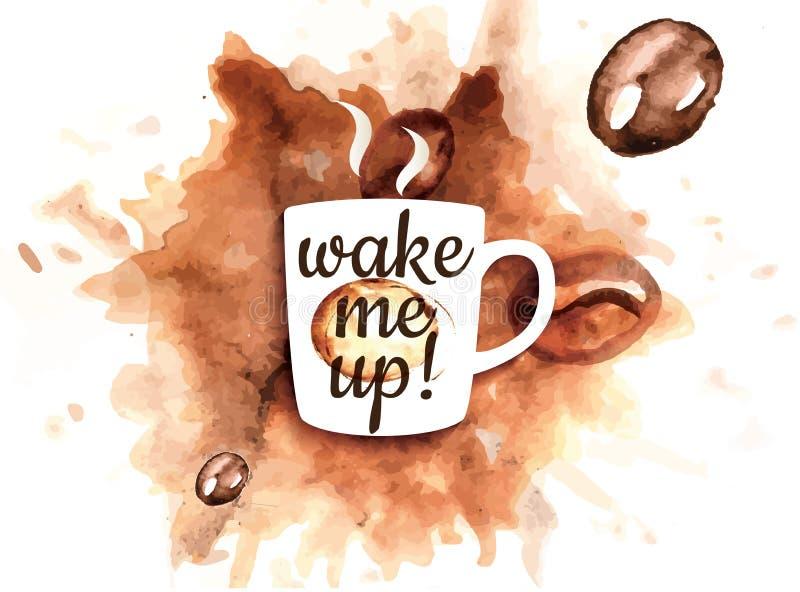 Koffiemok vector illustratie