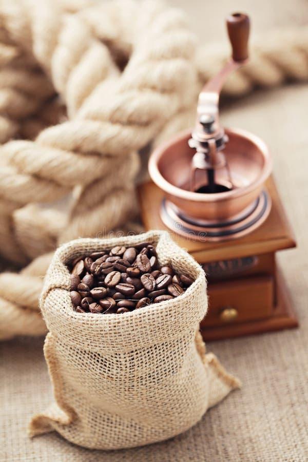 Koffiemolen royalty-vrije stock afbeeldingen