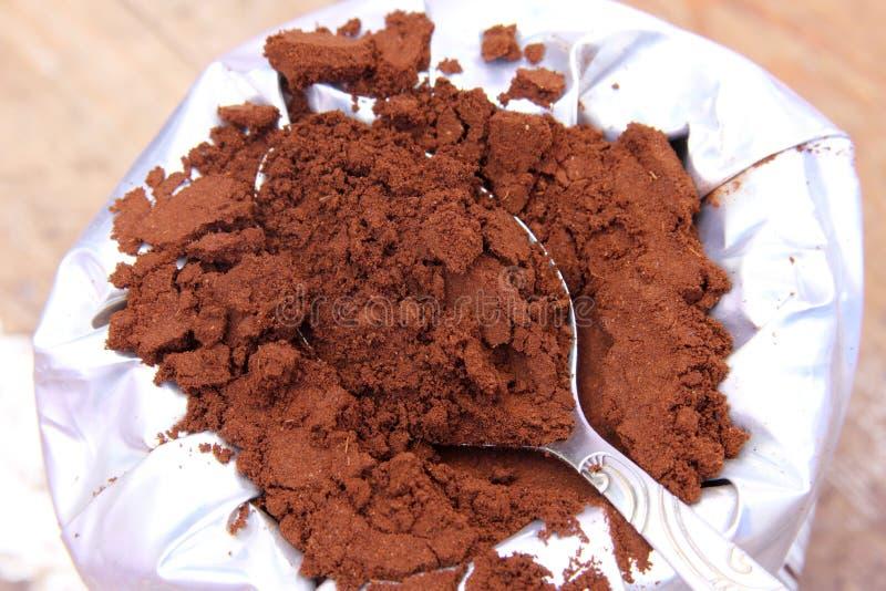 Koffiepak stock fotografie