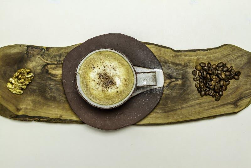 Koffiesamenvatting stock afbeeldingen