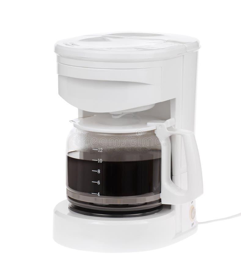 Koffiezetapparaat stock afbeelding