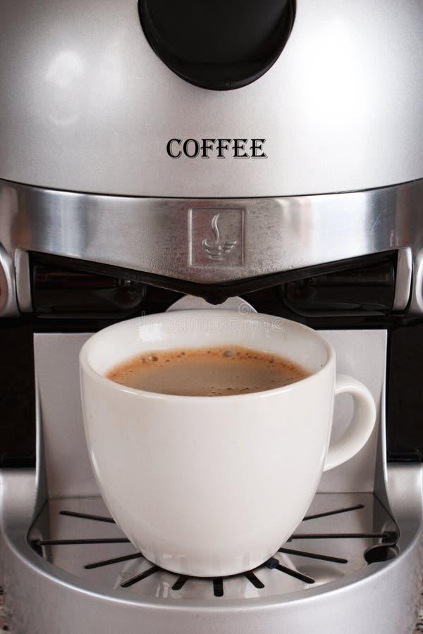 Koffiezetapparaat stock afbeeldingen