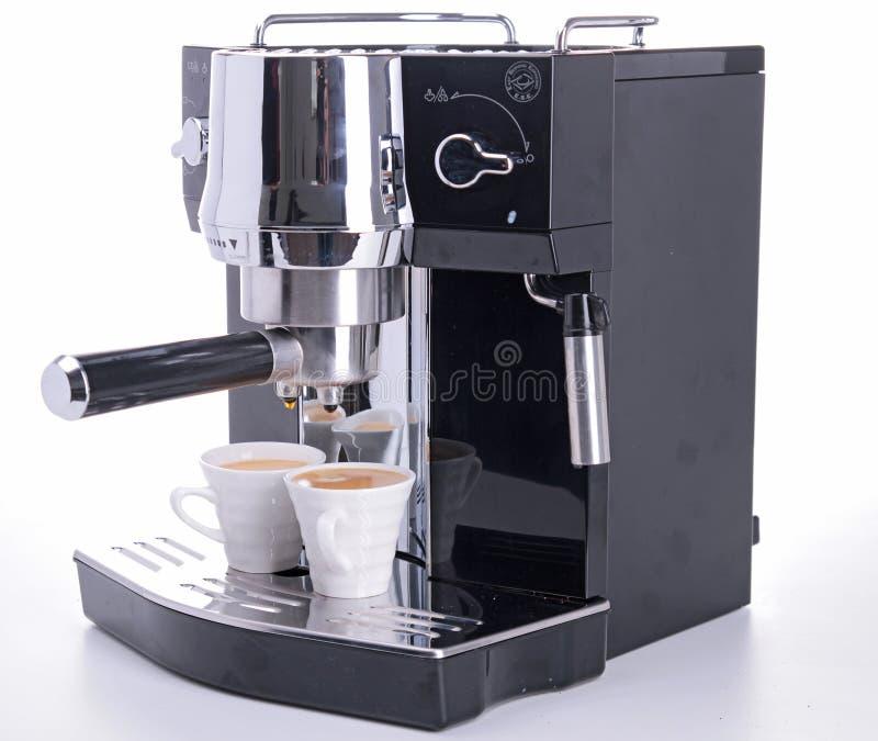Koffiezetapparaat stock foto's