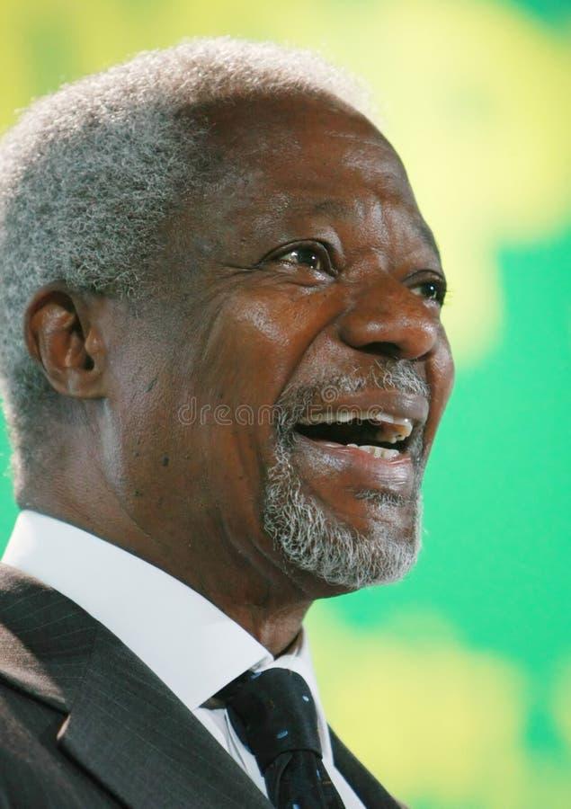 Kofi Annan stockfotos