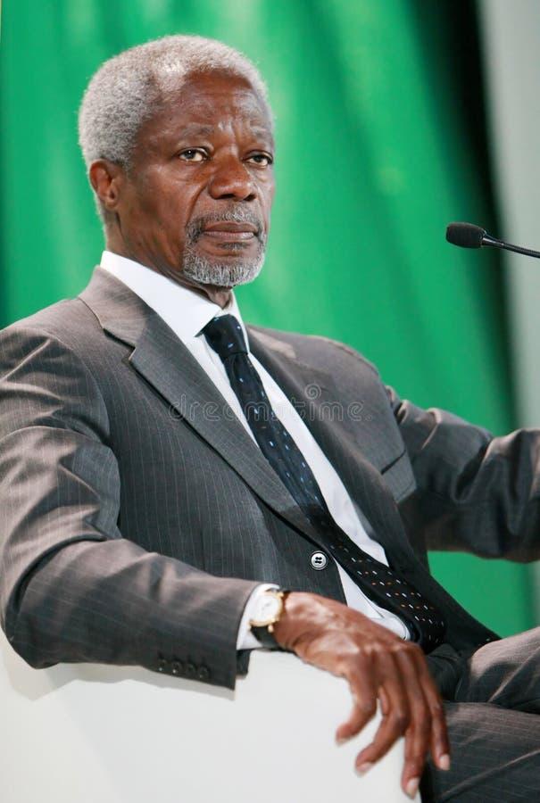 Kofi Annan lizenzfreies stockbild