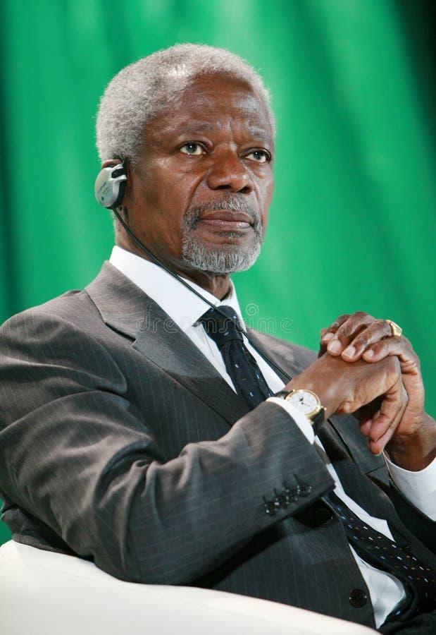 Kofi Annan royalty free stock image