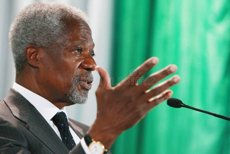 Kofi Annan immagine stock
