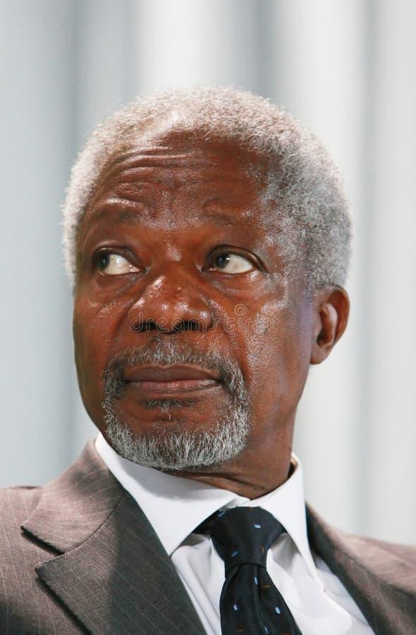 Kofi Annan royalty-vrije stock afbeeldingen