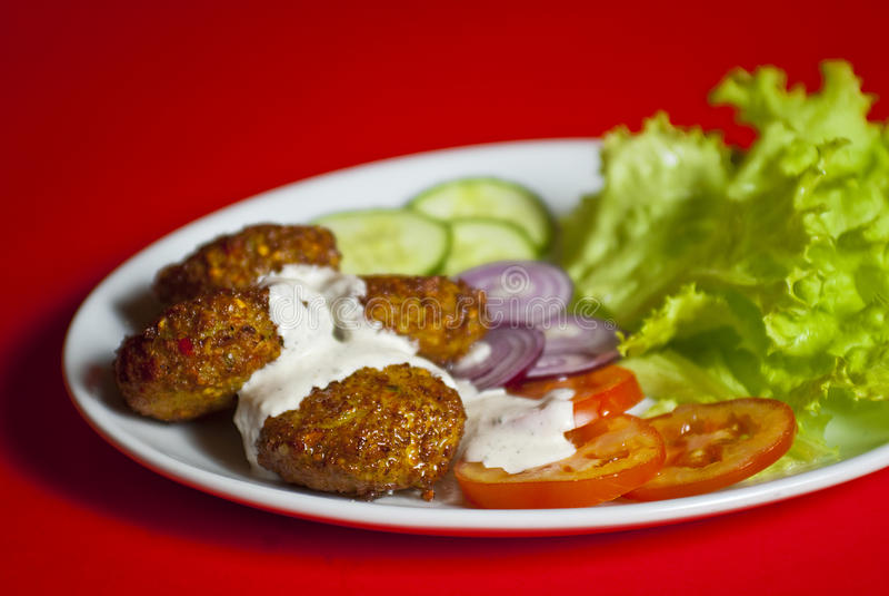 Kofte turc (bille de viande) images stock