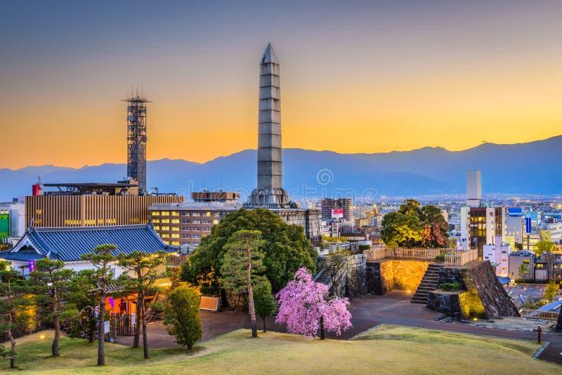 Kofu, Japan stockfotografie