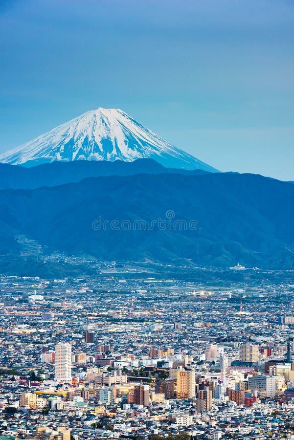 Kofu, le Japon avec le Mont Fuji image libre de droits