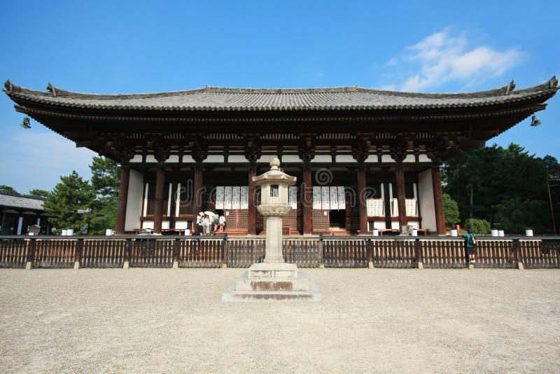 Kofuku-ji один из 8 исторических памятников старого Nara как обозначено ЮНЕСКО в Nara стоковые фото