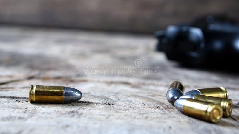 Kogels en Kanon stock afbeelding