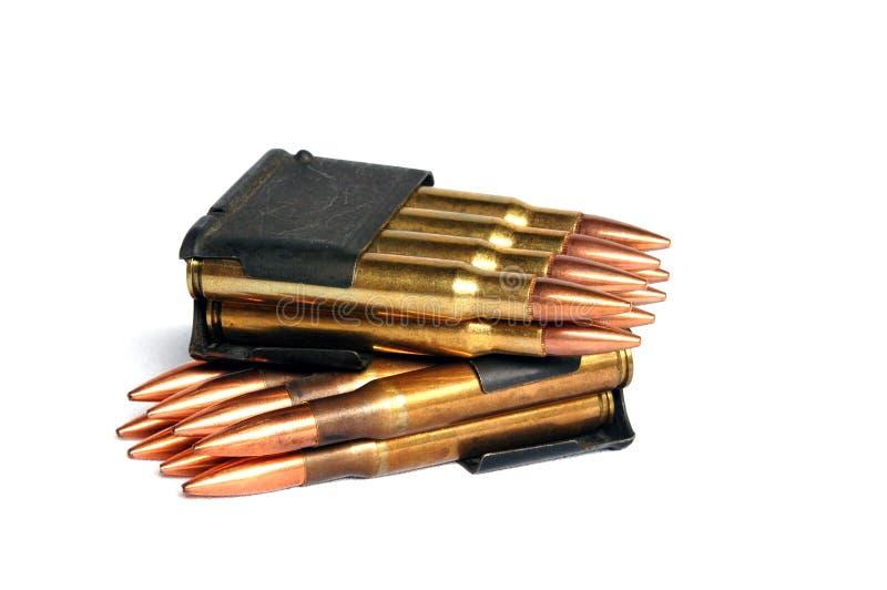 Kogels No2 royalty-vrije stock afbeelding