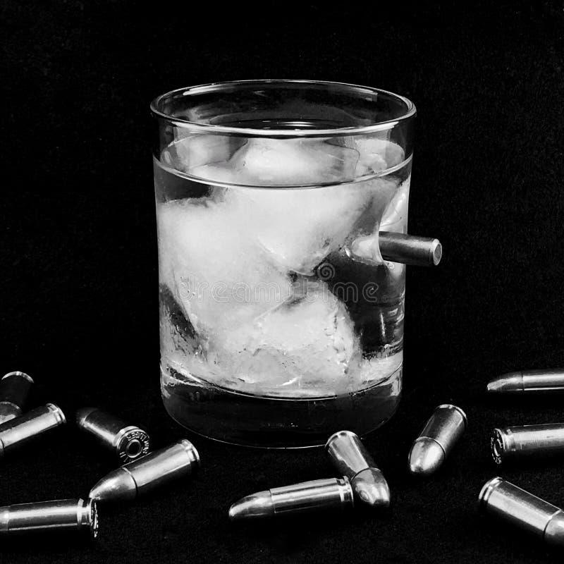 Kogelvrije drank stock afbeelding