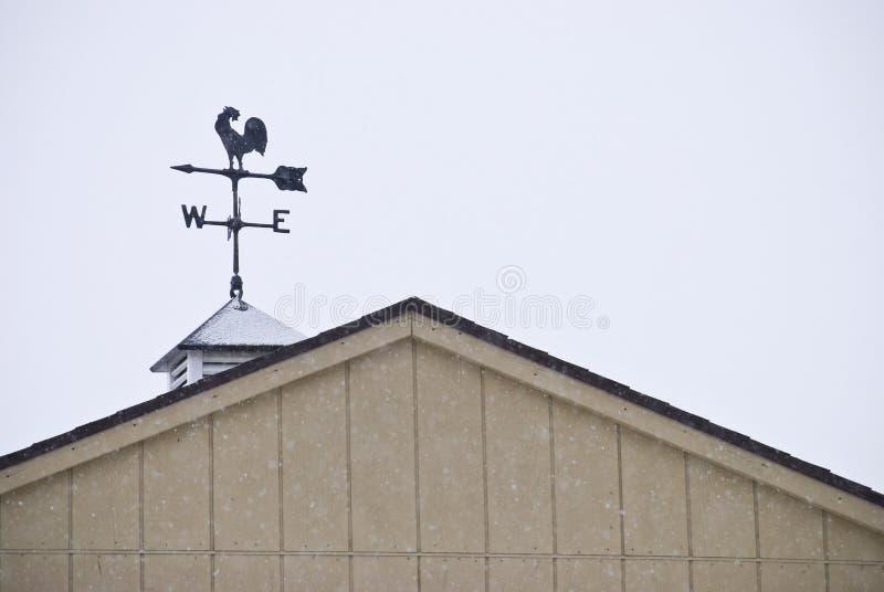koguta weathervane zdjęcia stock