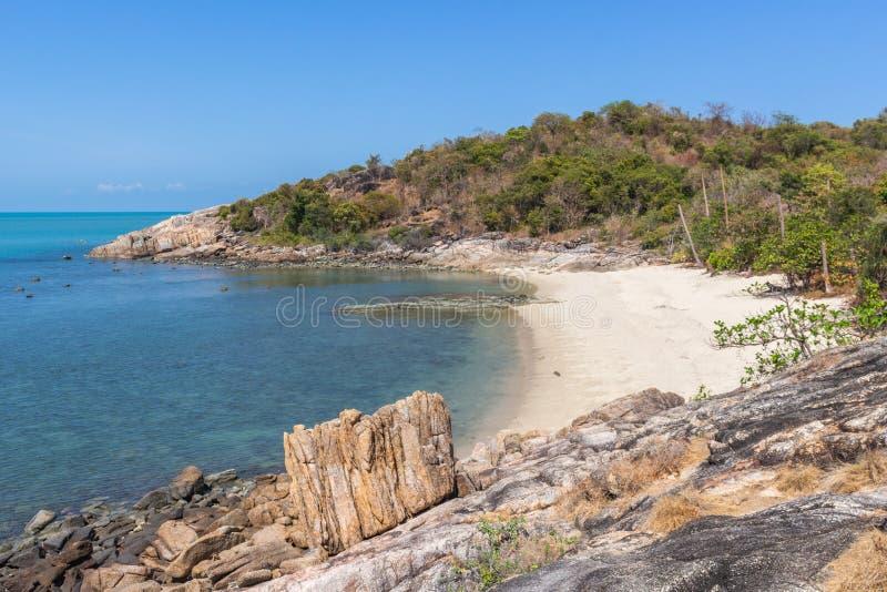 Koh κόλπων Thongson παραλία Samui στοκ φωτογραφία με δικαίωμα ελεύθερης χρήσης
