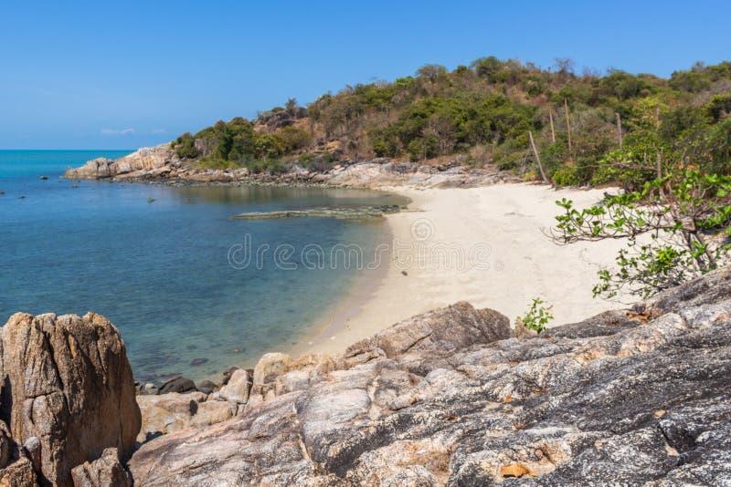 Koh κόλπων Thongson παραλία Samui στοκ εικόνα με δικαίωμα ελεύθερης χρήσης