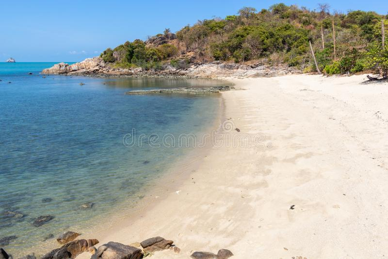 Koh κόλπων Thongson παραλία Samui στοκ φωτογραφία