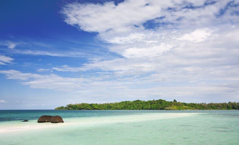 Koh παραλία Kham στοκ εικόνες