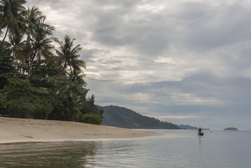 Koh Chang beach, Thailand royalty free stock photo