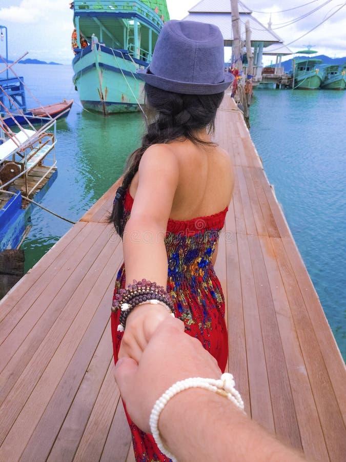 Koh Chang, de haven van Thailand royalty-vrije stock foto's