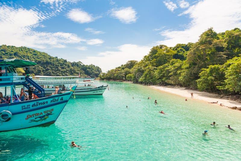 Koh Chang em Tailândia fotografia de stock